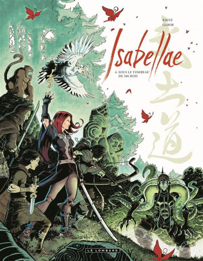Couverture Isabellae tome 4