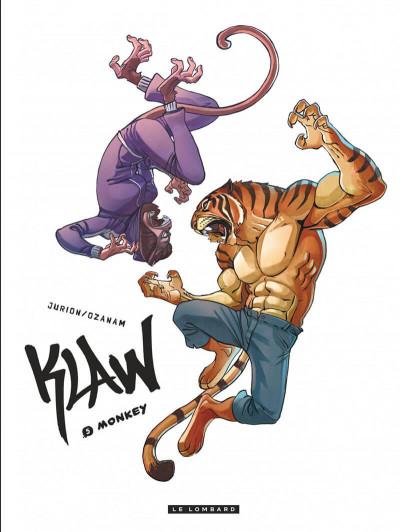 Couverture Klaw tome 5