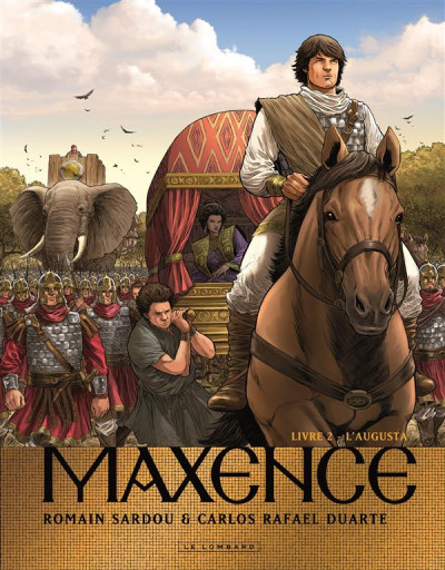 image de Maxence tome 2 - L'augusta