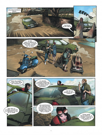 Page 4 Les prométhéens tome 2