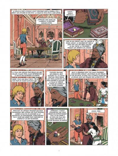 Page 4 Corentin - Les trois perles de Sa-Skya