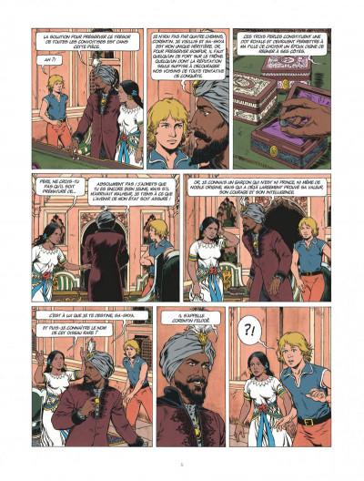 Page 5 Corentin - Les trois perles de Sa-Skya