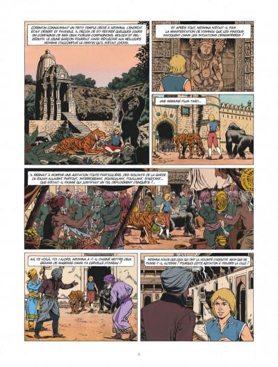 Page 8 Corentin - Les trois perles de Sa-Skya