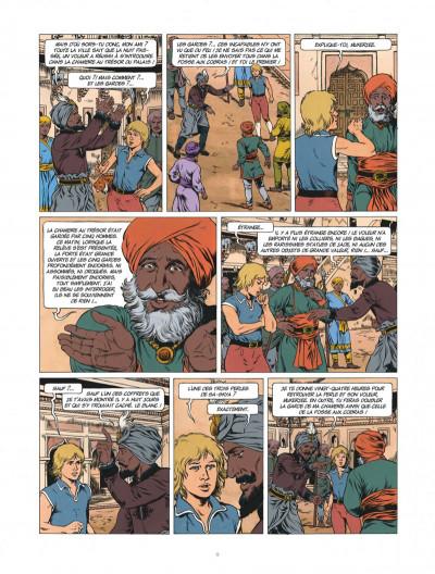 Page 9 Corentin - Les trois perles de Sa-Skya