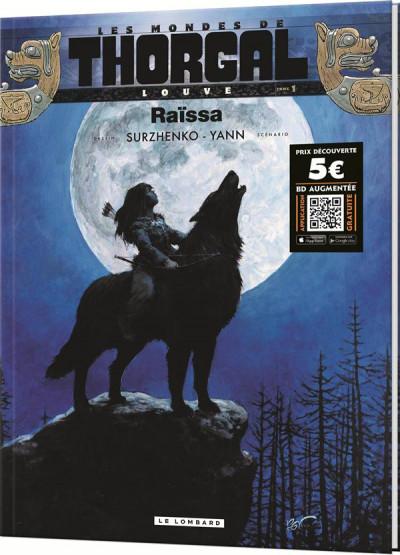 Couverture les mondes de Thorgal - louve tome 1 - Raïssa (prix spécial)