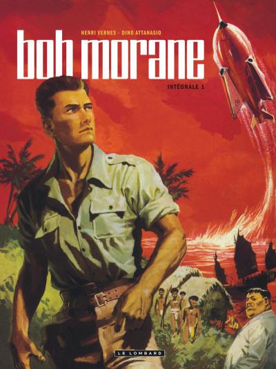 Couverture Bob Morane intégrale nouvelle version tome 1