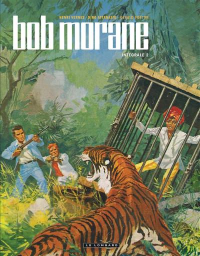 Couverture Bob Morane intégrale nouvelle version tome 2