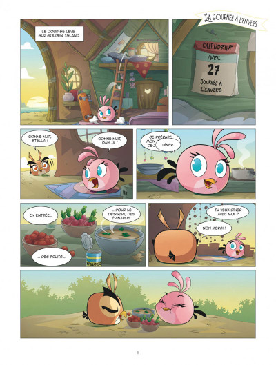 Page 4 Angry Birds - Stella tome 2