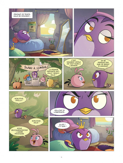Page 5 Angry Birds - Stella tome 2