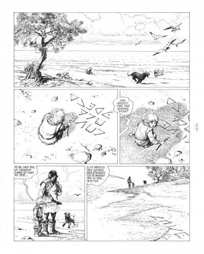 Page 4 Thorgal tome 8 - édition de luxe (noir et blanc)