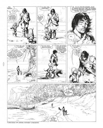 Page 6 Thorgal tome 8 - édition de luxe (noir et blanc)