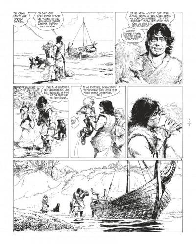 Page 7 Thorgal tome 8 - édition de luxe (noir et blanc)
