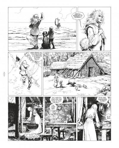 Page 8 Thorgal tome 8 - édition de luxe (noir et blanc)