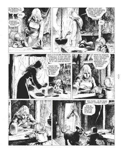 Page 9 Thorgal tome 8 - édition de luxe (noir et blanc)