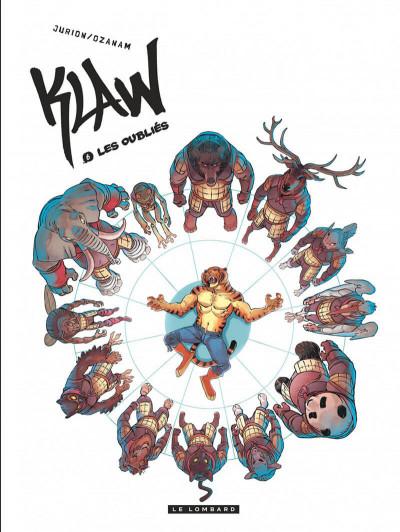 Couverture Klaw tome 6