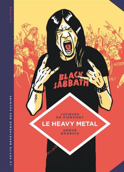 Couverture La petite bédéthèque des savoirs tome 4 - Le heavy metal
