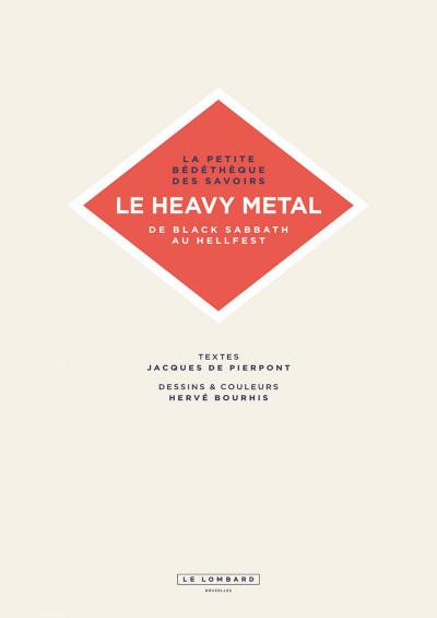 Page 2 La petite bédéthèque des savoirs tome 4 - Le heavy metal