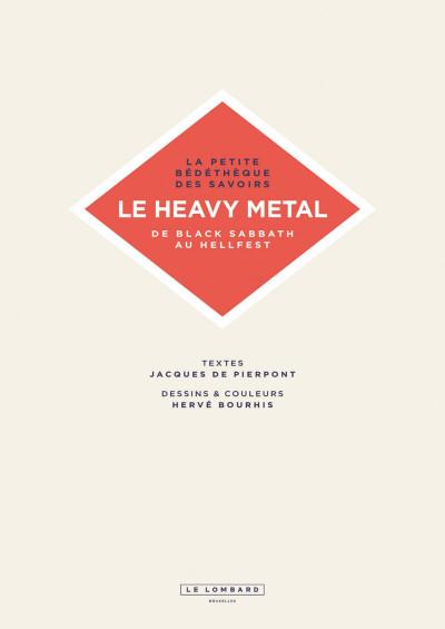 Page 3 La petite bédéthèque des savoirs tome 4 - Le heavy metal