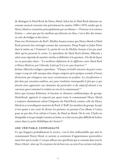 Page 6 La petite bédéthèque des savoirs tome 4 - Le heavy metal