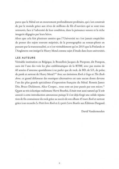 Page 8 La petite bédéthèque des savoirs tome 4 - Le heavy metal