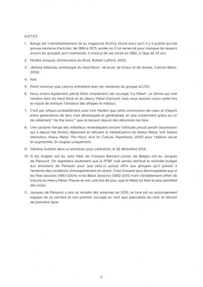 Page 9 La petite bédéthèque des savoirs tome 4 - Le heavy metal