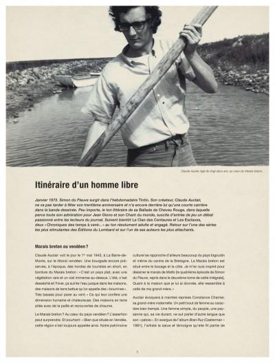 Page 5 Simon du fleuve intégrale tome 1