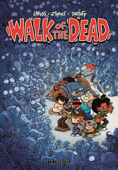 Couverture Walk of the dead