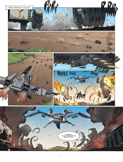 Page 2 Drones tome 2 - Post Trauma