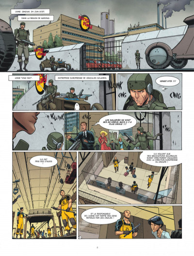 Page 8 Drones tome 2 - Post Trauma