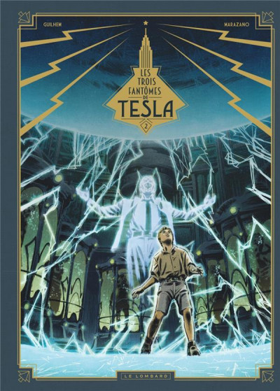 Couverture Les trois fantômes de Tesla tome 2