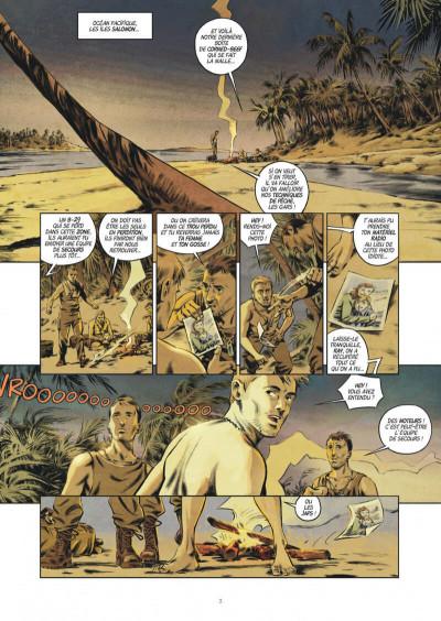 Page 3 Les trois fantômes de Tesla tome 2