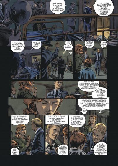 Page 6 Les trois fantômes de Tesla tome 2