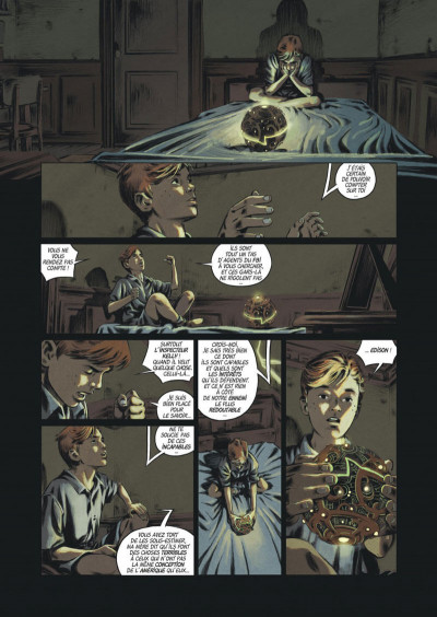 Page 7 Les trois fantômes de Tesla tome 2
