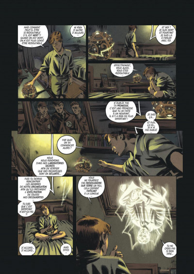 Page 8 Les trois fantômes de Tesla tome 2