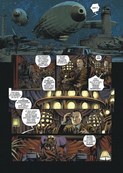 Page 9 Les trois fantômes de Tesla tome 2