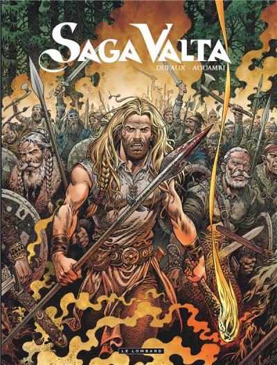 Couverture Saga Valta tome 3 + ex-libris offert