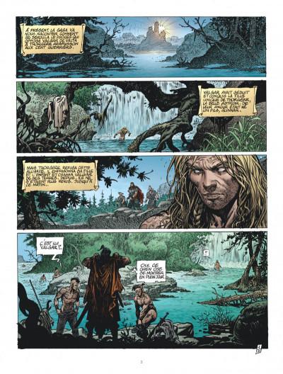 Page 3 Saga Valta tome 3 + ex-libris offert