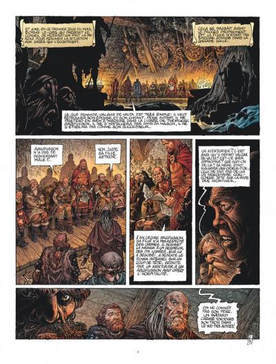 Page 8 Saga Valta tome 3 + ex-libris offert
