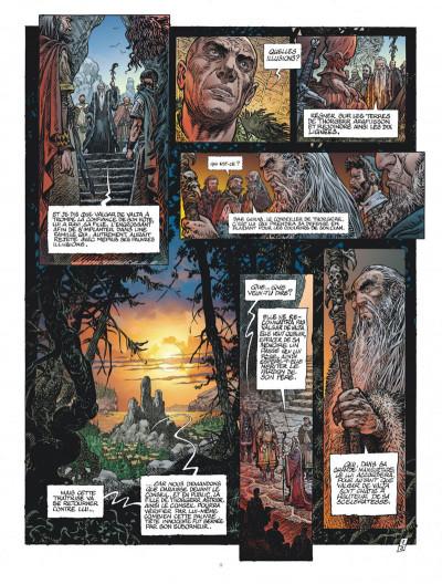 Page 9 Saga Valta tome 3 + ex-libris offert