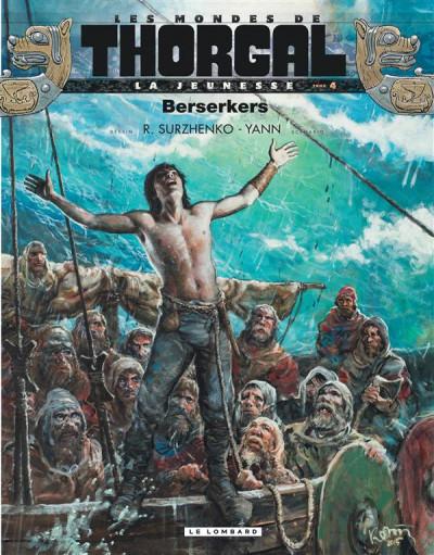 Couverture La jeunesse de Thorgal tome 4 - Berserkers