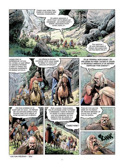 Page 2 La jeunesse de Thorgal tome 4 - Berserkers