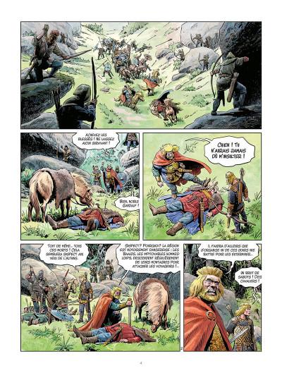 Page 3 La jeunesse de Thorgal tome 4 - Berserkers