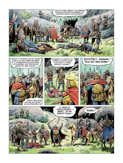 Page 4 La jeunesse de Thorgal tome 4 - Berserkers