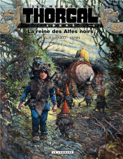 Couverture Les mondes de Thorgal - Louve tome 6