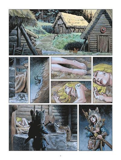 Page 2 Les mondes de Thorgal - Louve tome 6