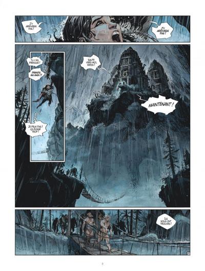 Page 3 Les mondes de Thorgal - Kriss de Valnor tome 7