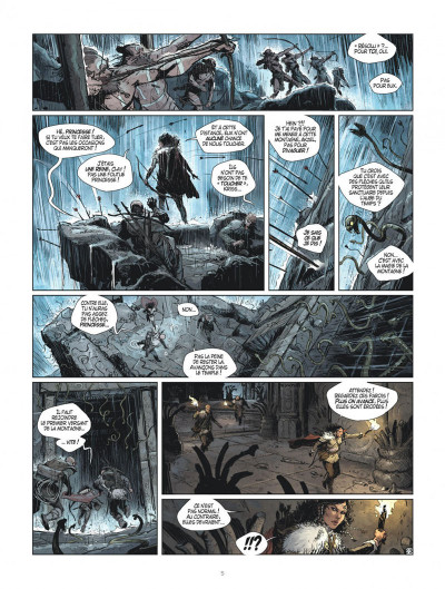 Page 5 Les mondes de Thorgal - Kriss de Valnor tome 7