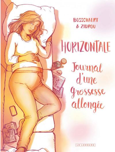 Couverture Horizontale - journal d'une grossesse allongée