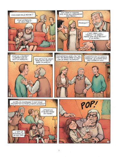 Page 5 Horizontale - journal d'une grossesse allongée