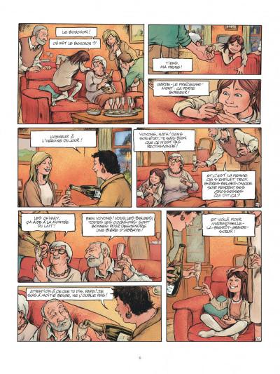 Page 6 Horizontale - journal d'une grossesse allongée